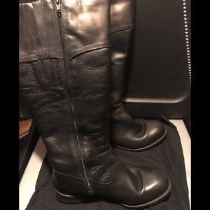 Clark boots with warm liner size 8 color black